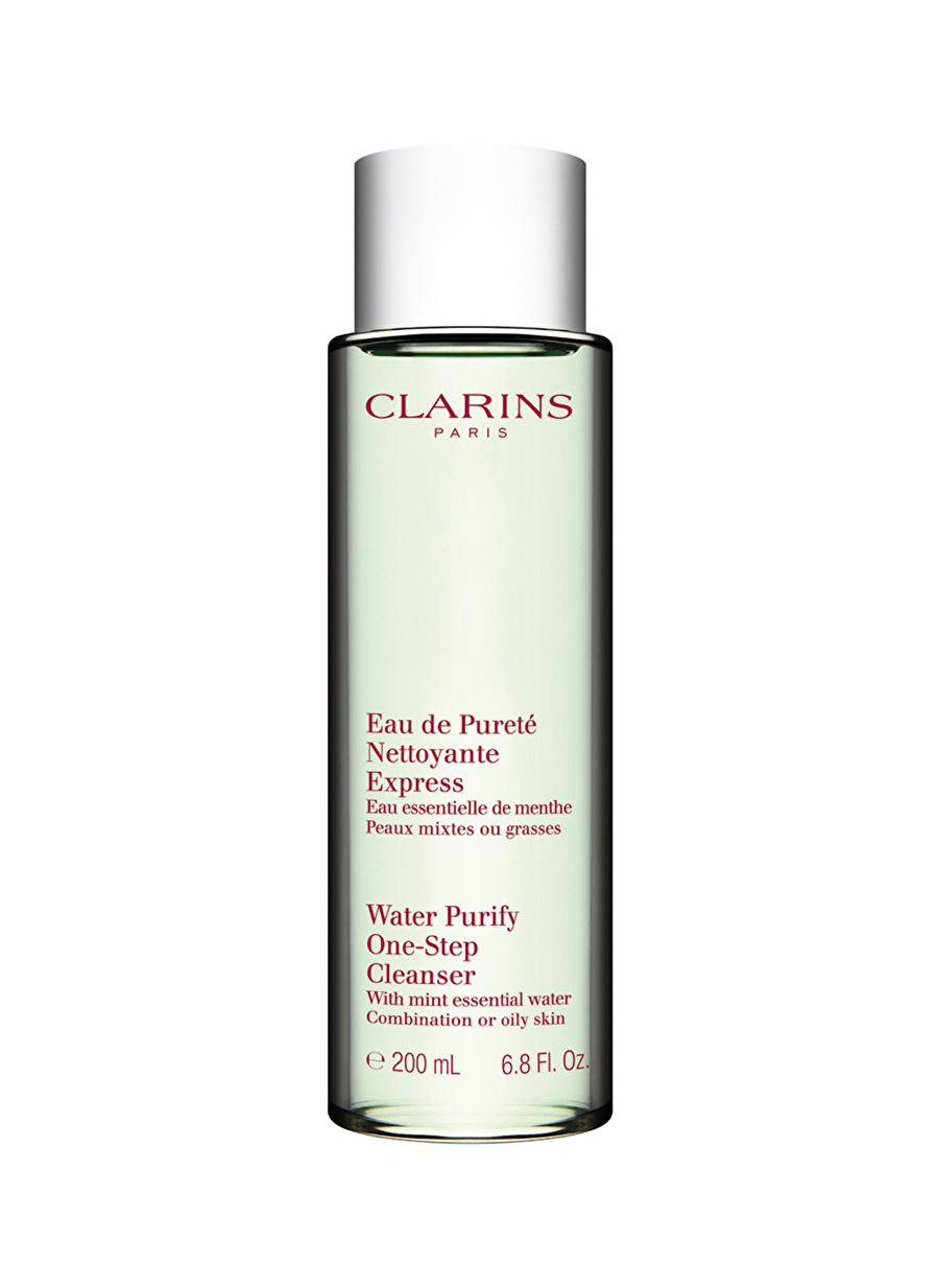 Standart Kadın Renksiz Clarins Water Purify One-Step Cleanser Combination or Oily skin Köpük Temizleyici Kozmetik Cilt Bakımı Tonik