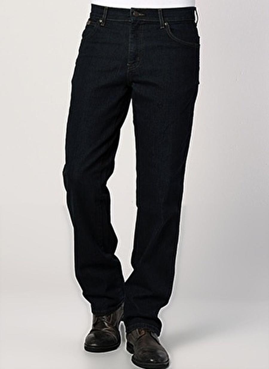 33-32 Renksiz Lee amp; Wrangler & W12175001 Texas Stretch Klasik Pantolon Erkek Giyim