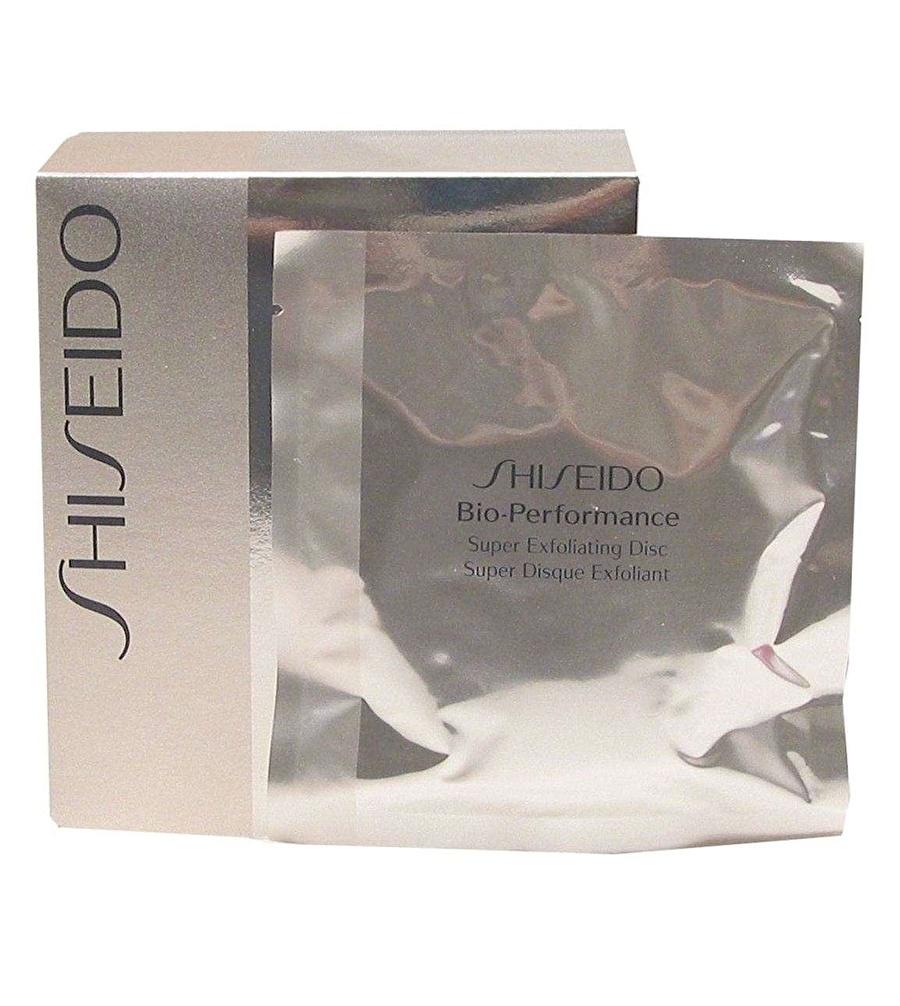 Standart Kadın Renksiz Shiseido Bio Performance Super Exfoliating Discs 8 Peelıng Kozmetik Cilt Bakımı Yüz Maskesi Peeling