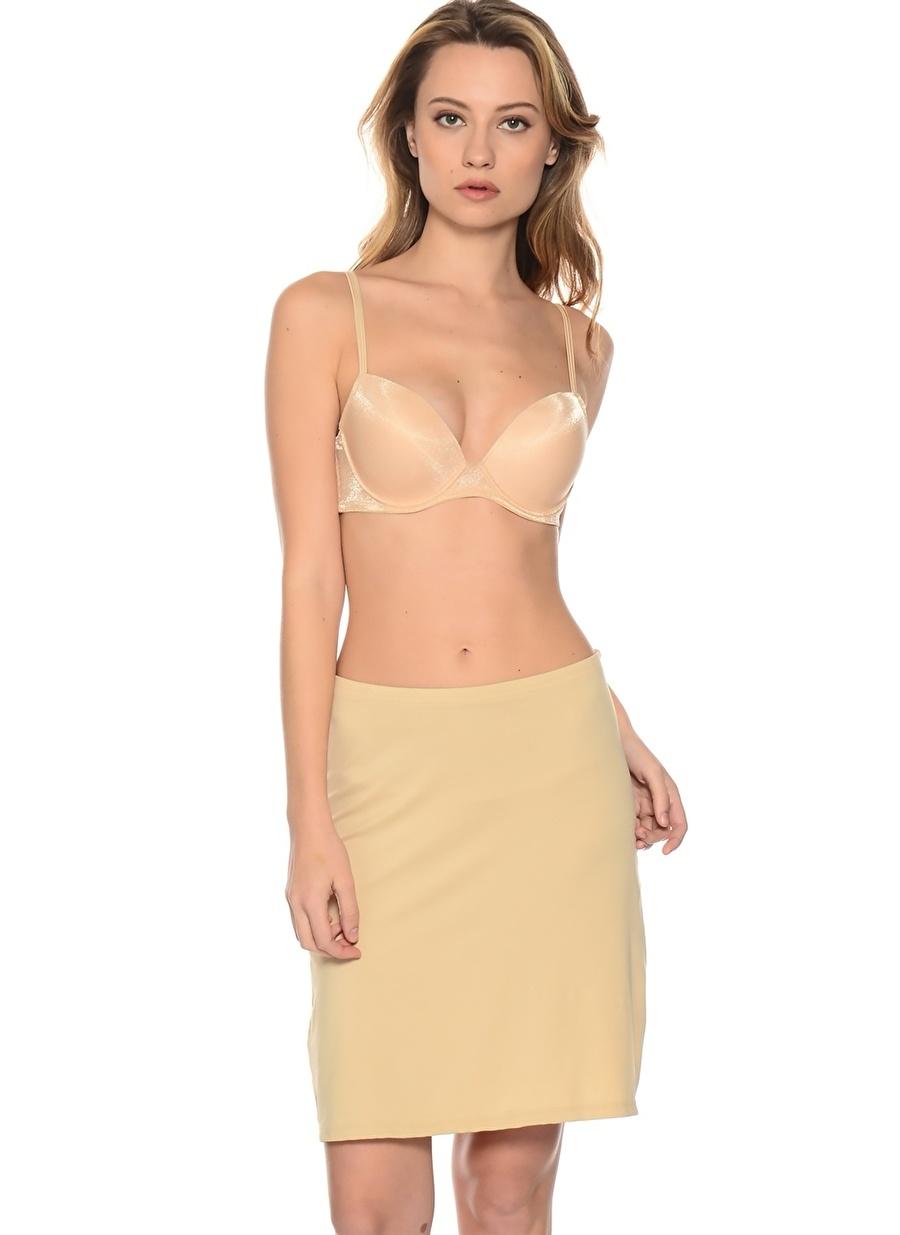 S Renksiz Miss. Claire Jüpon Kadın İç Giyim Kombinezon