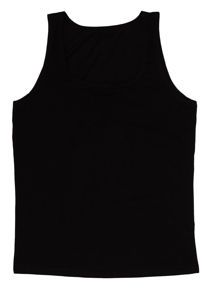 S Siyah Blackspade Tekli İç Giyim Atlet Erkek AtletFanila