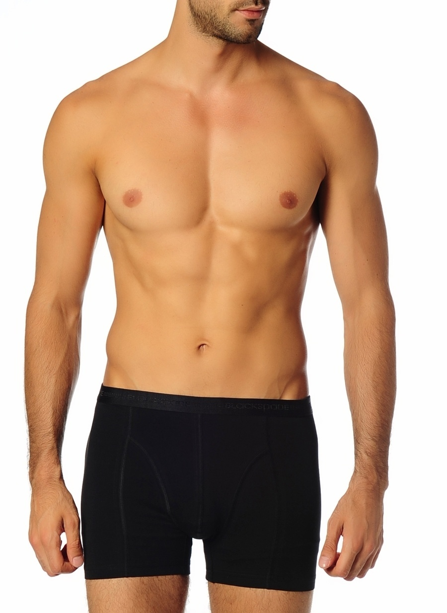S Siyah Blackspade Tekli Boxer Erkek İç Giyim