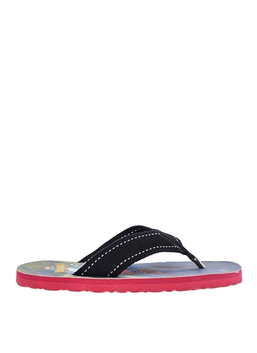 42 Erkek Kırmızı Uğur Plaj Terliği Ayakkabı Çanta Çocuk Ayakkabıları Terlik Sandaletler