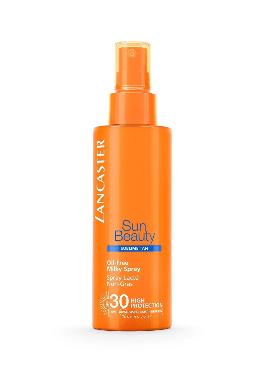 Standart unisex Renksiz Lancaster Sun Beauty Oil Free Milky Spray Spf30 150Ml Güneş Ürünü Kozmetik Ürünleri