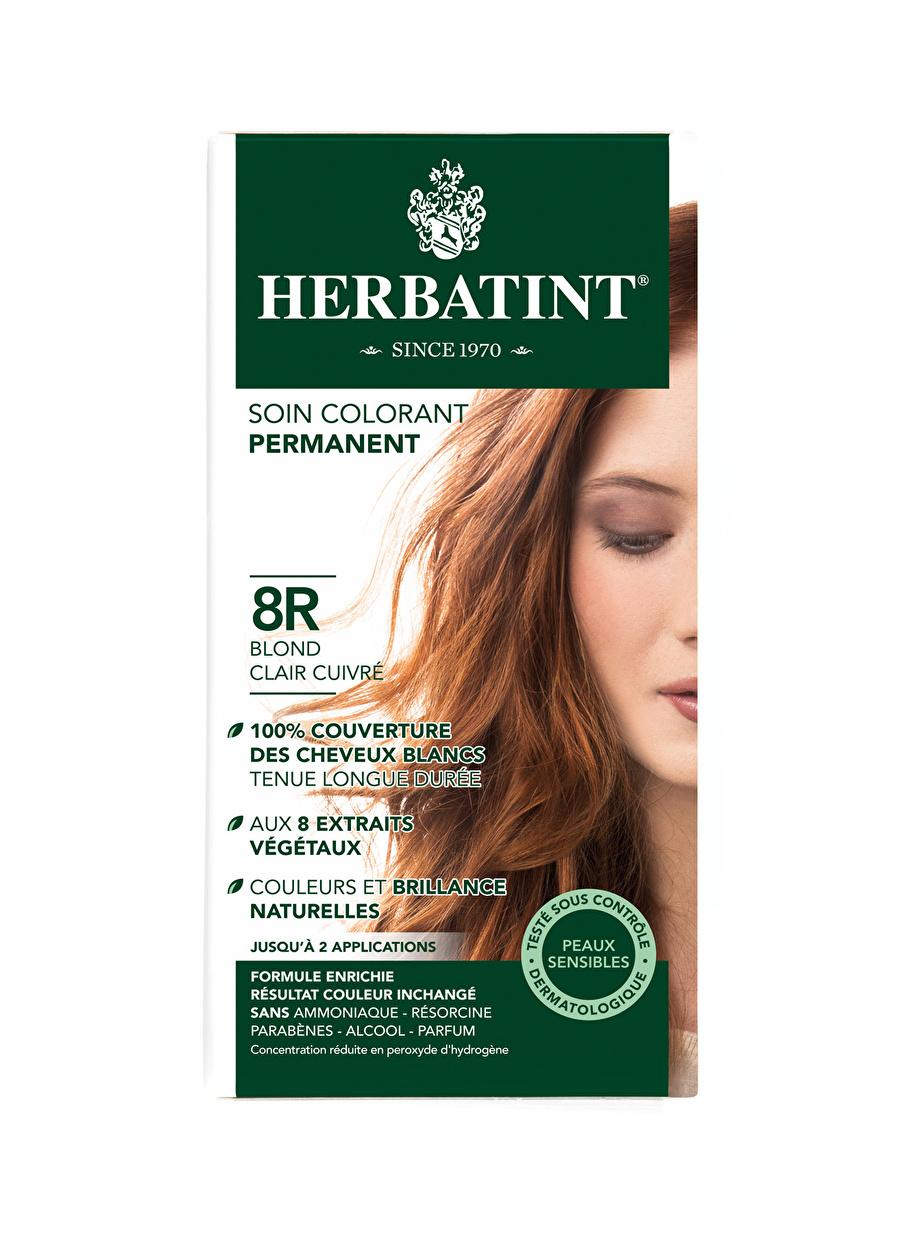 Standart Kadın Renksiz Herbatint 8R Blond Chair Cuivre Saç Boyası Kozmetik Bakımı Şampuan