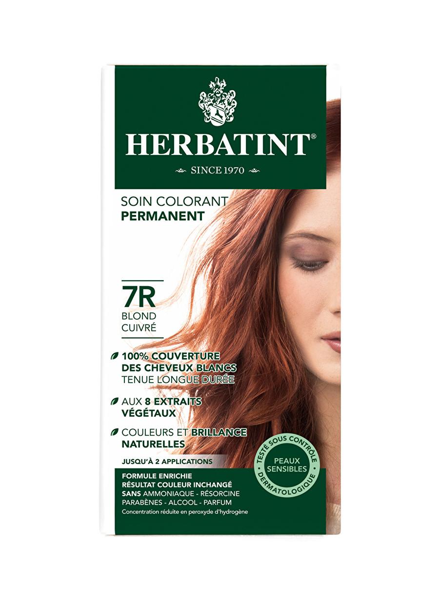 Standart Kadın Renksiz Herbatint 7R Blond Cuivre Saç Boyası Kozmetik Bakımı Şampuan