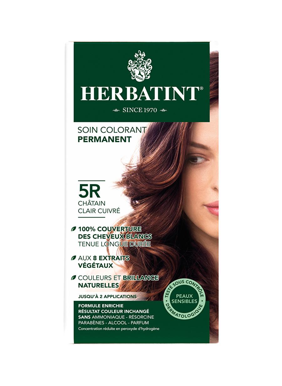 Standart Kadın Renksiz Herbatint 5R Chatain Clair Cuivre Saç Boyası Kozmetik Bakımı Şampuan