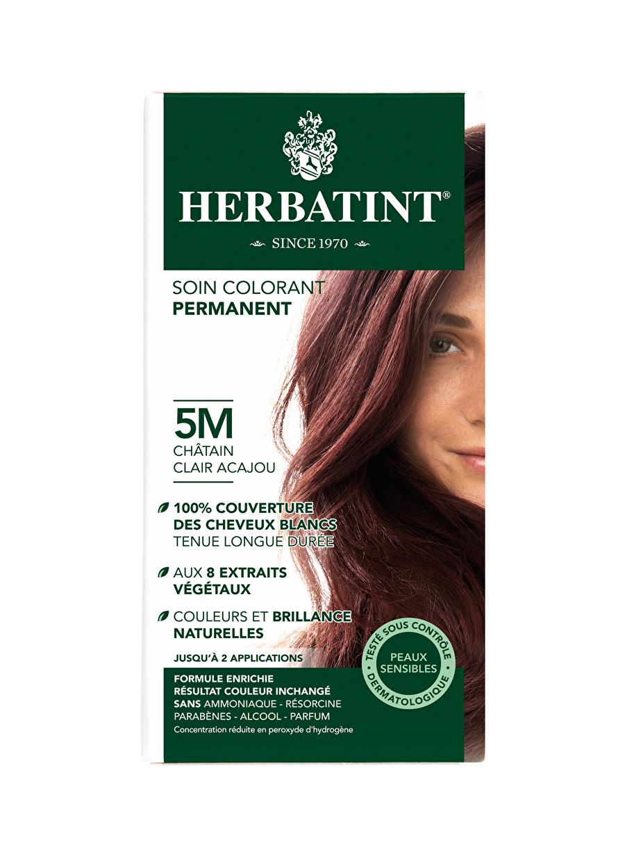 Standart Kadın Renksiz Herbatint 5M Chatain Clair Acajou Saç Boyası Kozmetik Bakımı Şampuan