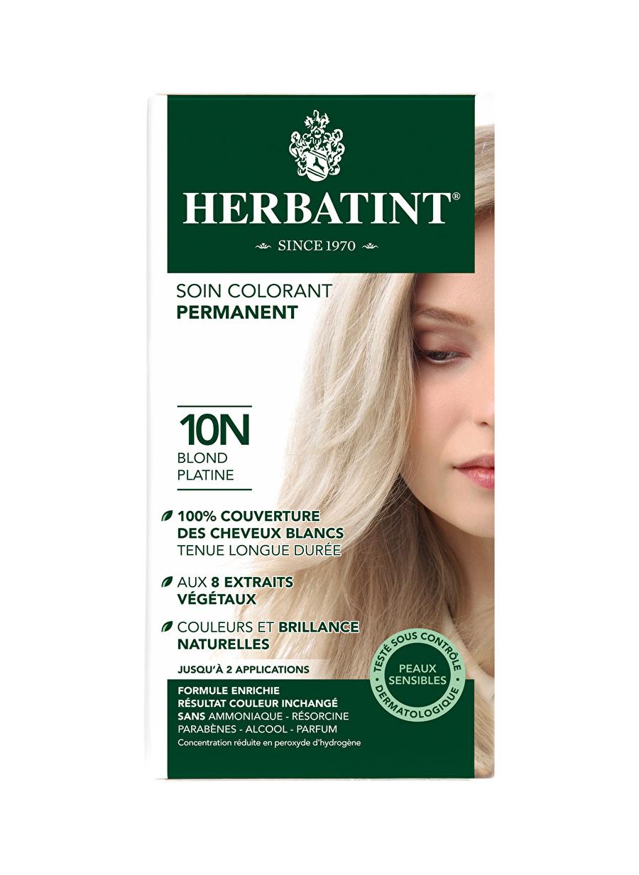 Standart Kadın Renksiz Herbatint 10N Blond Platine Saç Boyası Kozmetik Bakımı Şampuan