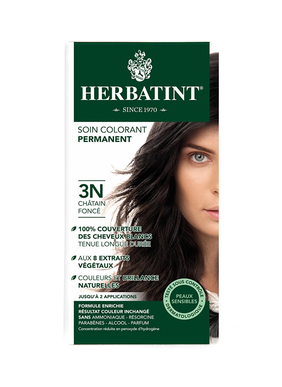 Standart Kadın Renksiz Herbatint 3N Chatain Fonce Saç Boyası Kozmetik Bakımı Şampuan