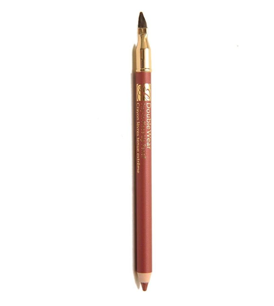 Standart Kadın Renksiz Estee Lauder Double Wear Lip Pencil No.03 Tawny Dudak Kalemi Kozmetik Makyaj Makyajı