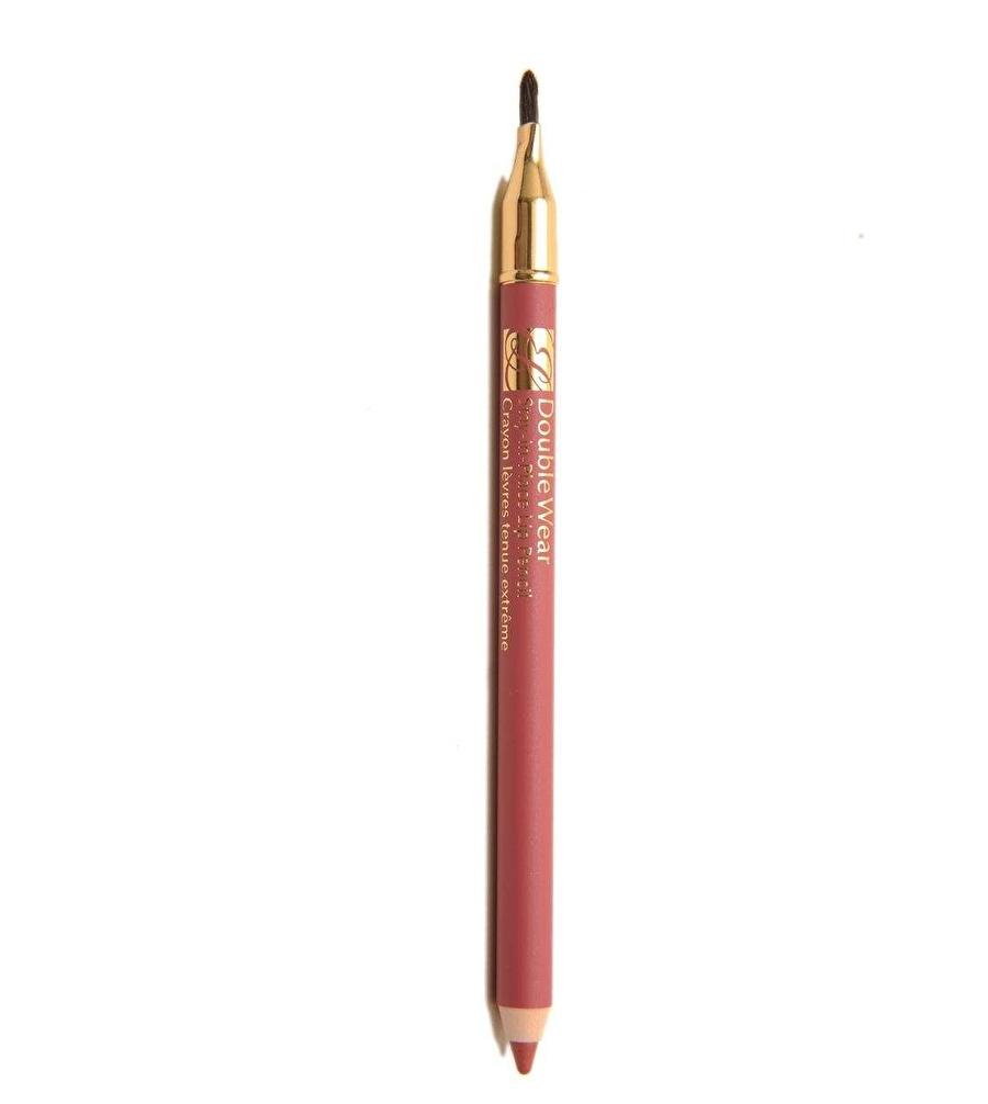 Standart Kadın Renksiz Estee Lauder Double Wear Stay-In-Place Lip Pencil 01 Pink Dudak Kalemi Kozmetik Makyaj Makyajı