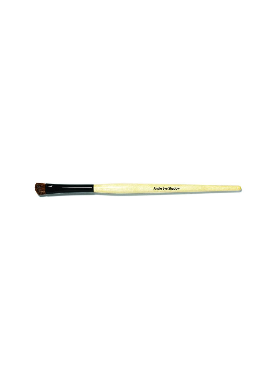 Standart Kadın Renksiz Bobbi Brown Angle Eye Shadow Brush Makyaj Fırçası Kozmetik Aksesuarı
