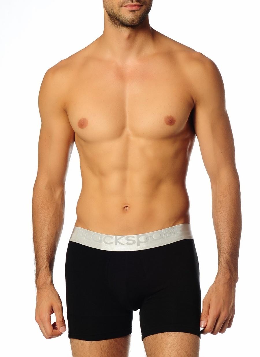 L Siyah Blackspade Tekli Boxer Erkek İç Giyim