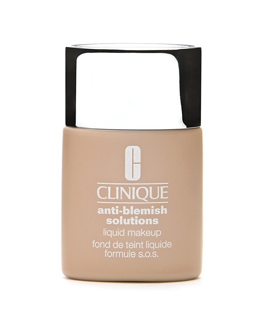 Standart Kadın Renksiz Clinique Anti-Blemish Fresh Neutral Fondöten Kozmetik Makyaj Yüz Makyajı