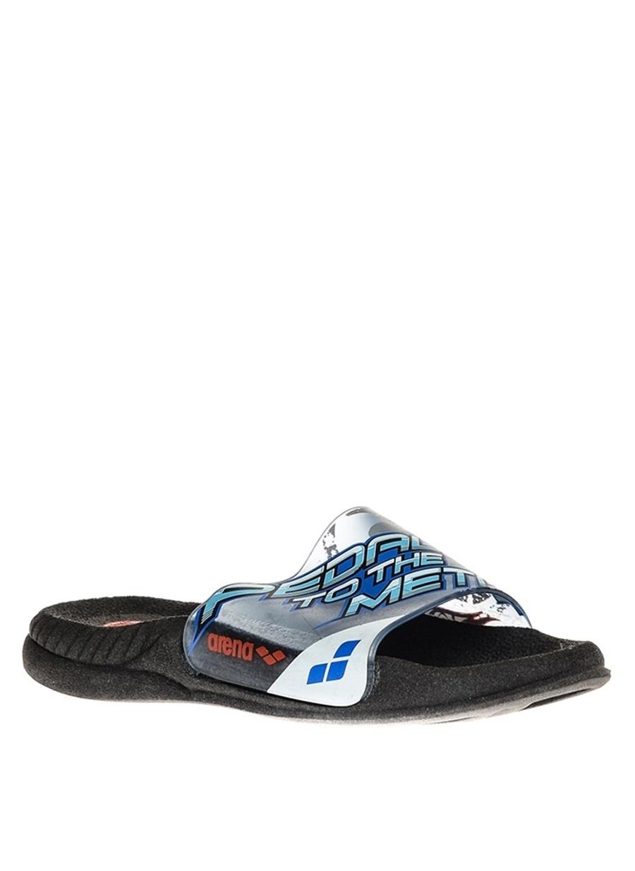 24 Erkek Mavi Arena Plaj Terliği Ayakkabı Çanta Çocuk Ayakkabıları Terlik Sandaletler