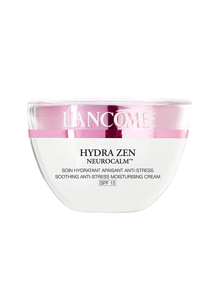 Standart Kadın Renksiz Lancome Hydra Zen Anti-Stress Cream SPF 15 Nemlendirici Kozmetik Cilt Bakımı