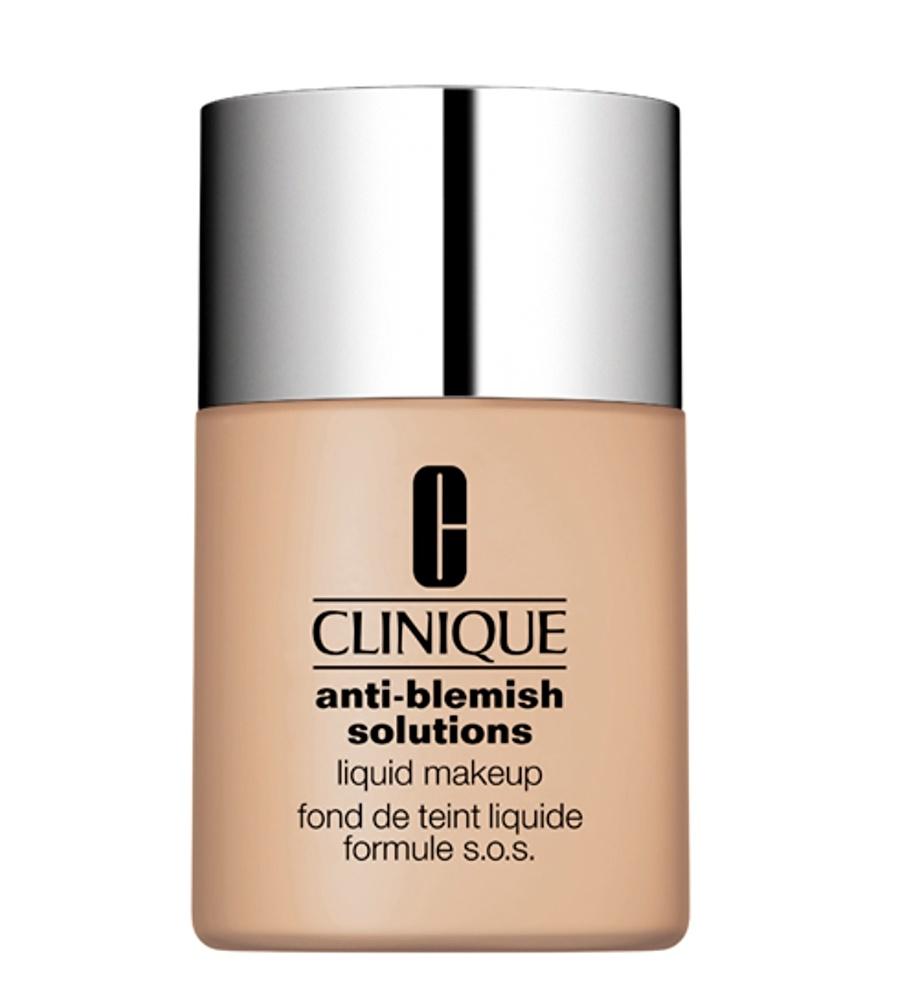 Standart Kadın Renksiz Clinique Antı-Blemısh Fondöten Fresh Alabaster Kozmetik Makyaj Yüz Makyajı