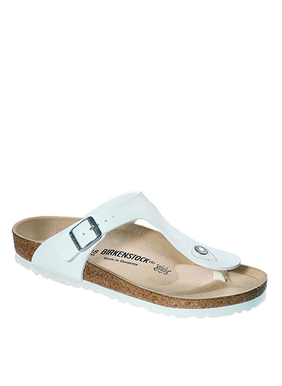 40 Beyaz Birkenstock Terlik Ayakkabı Çanta Kadın Sandalet