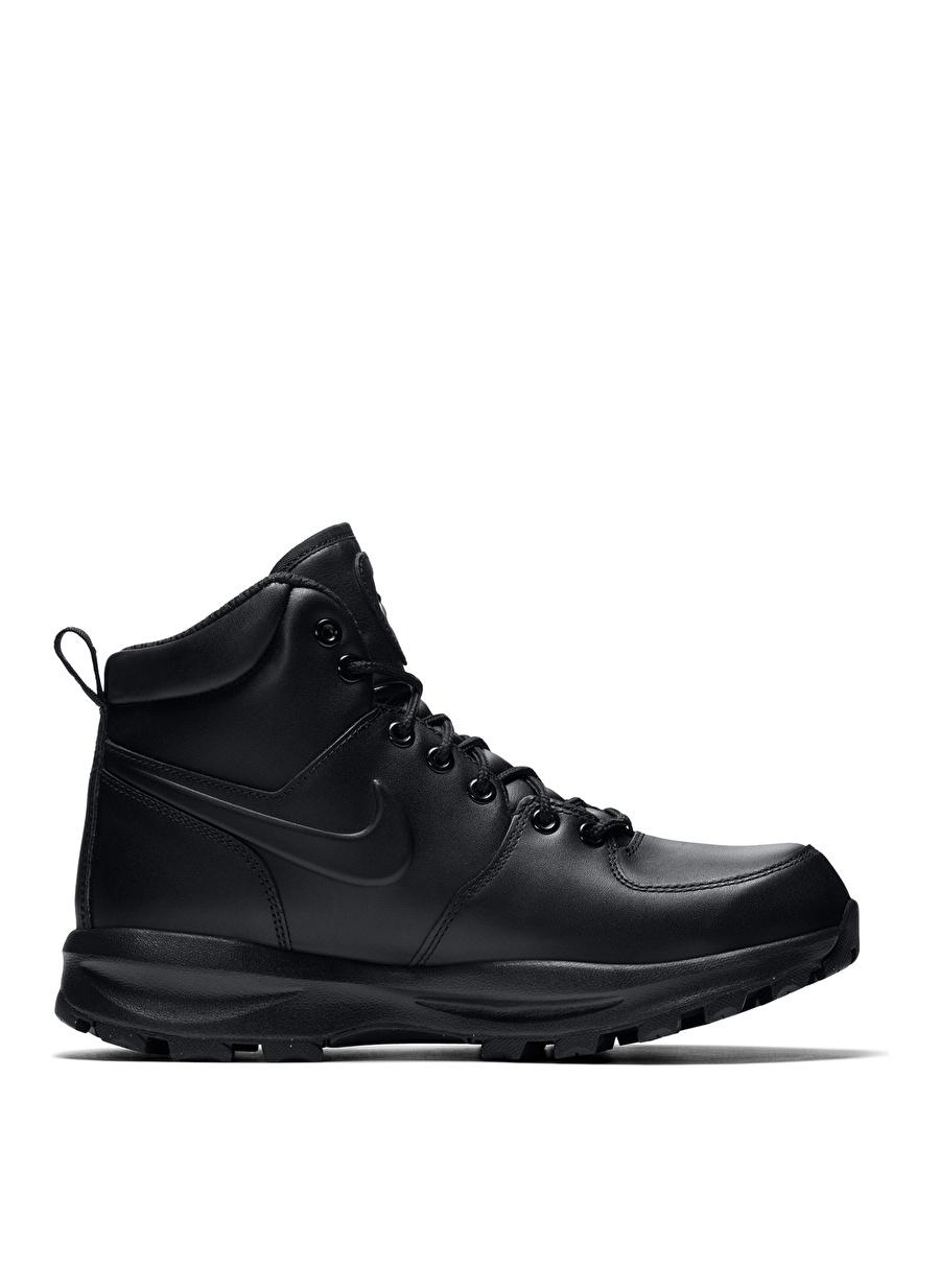 Us 10.5 Siyah Nike Manoa Leather Erkek Bot Ayakkabı Çanta Çizme