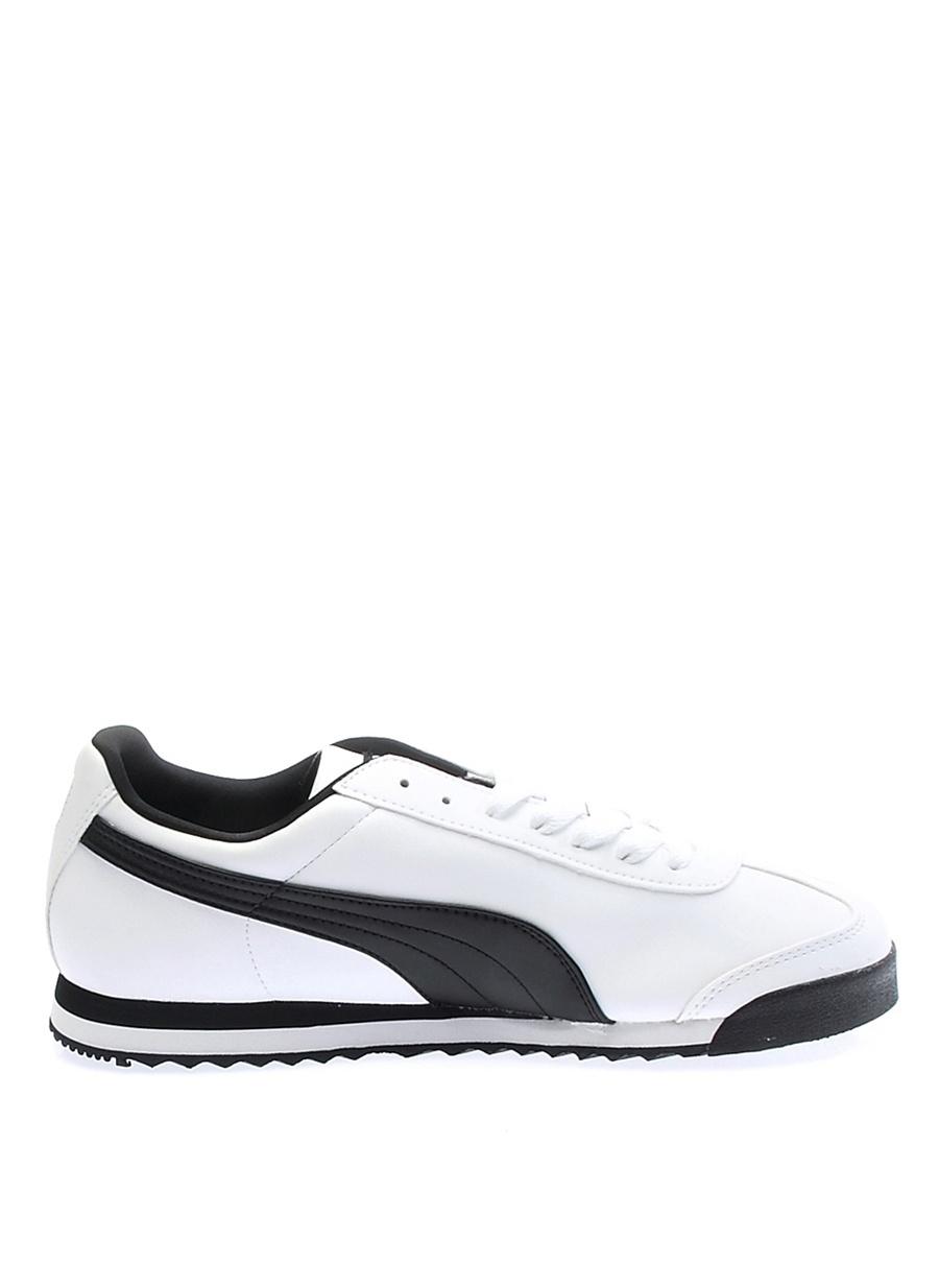 Us 10 Beyaz Puma Roma Basic Lifestyle Ayakkabı Çanta Erkek Sneaker