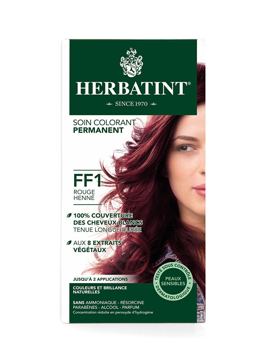 Standart Kadın Renksiz Herbatint FF1 Rouge Henne Saç Boyası Kozmetik Bakımı Şampuan