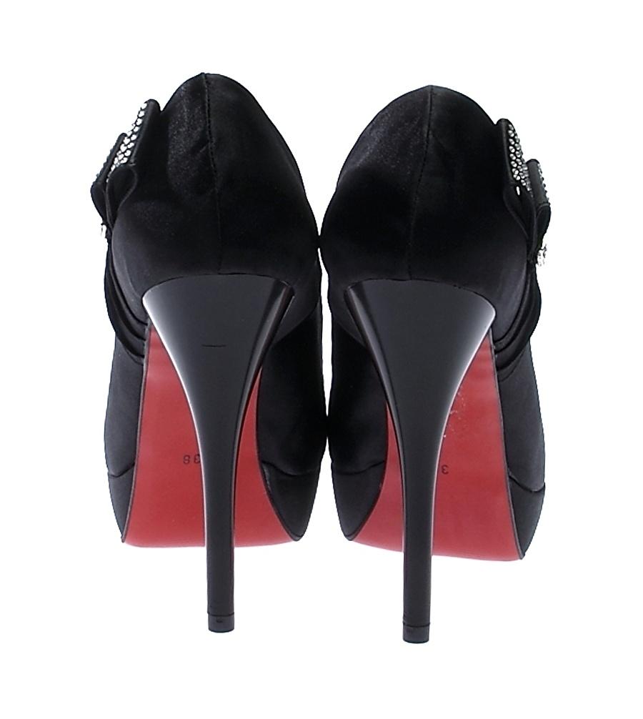 Ves Deri Topuklu Ayakkabı