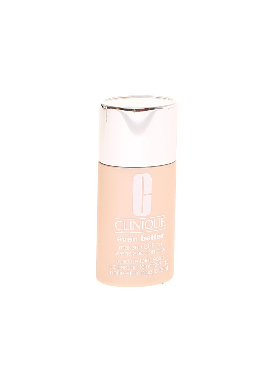 Standart Kadın Renksiz Clinique Evn Btr Mkup Spf15-Buff 30Ml 1Floz Fondöten Kozmetik Makyaj Yüz Makyajı