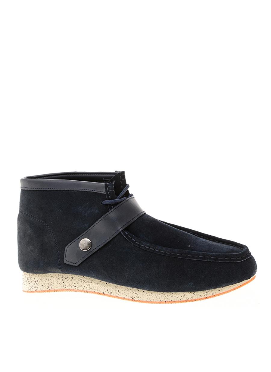 44 Koyu Lacivert Limon Bot Ayakkabı Çanta Erkek Çizme