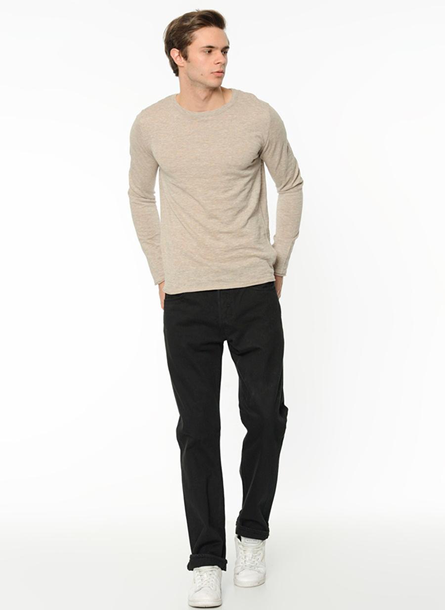 31-32 Renksiz Levis 00501-0165 Original Black Denim Pantolon Erkek Giyim Jean