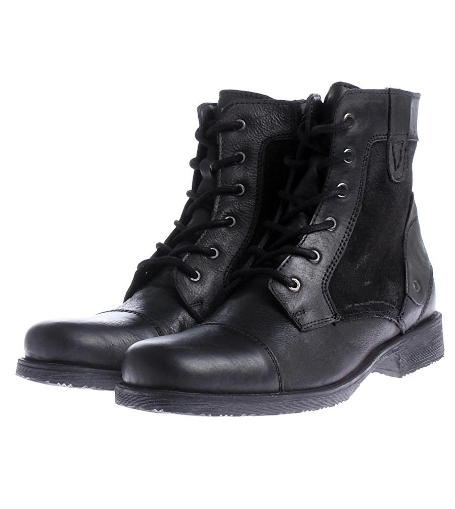 42 Siyah Limon Bot Ayakkabı Çanta Erkek Çizme