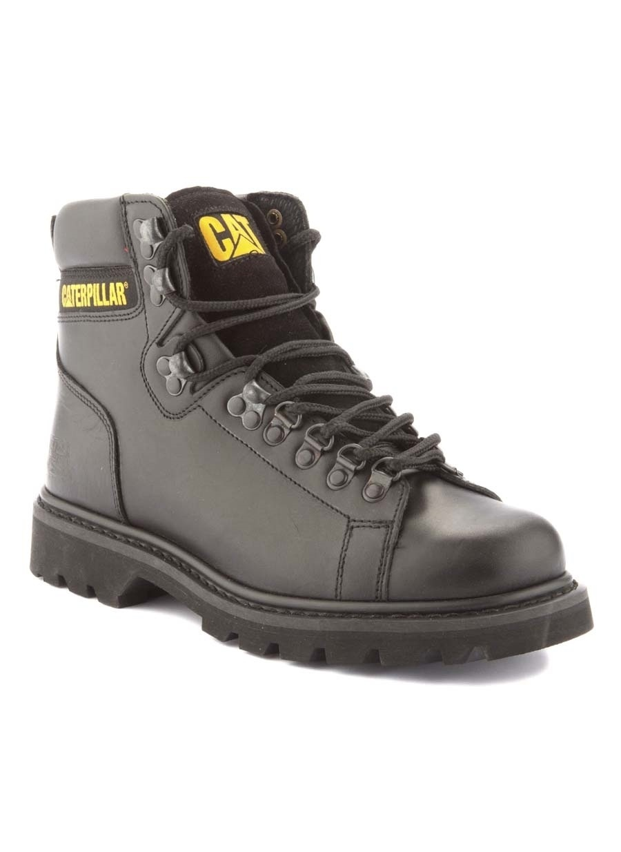 45 Siyah Caterpillar Erkek Nubuk Bot Ayakkabı Çanta Çizme