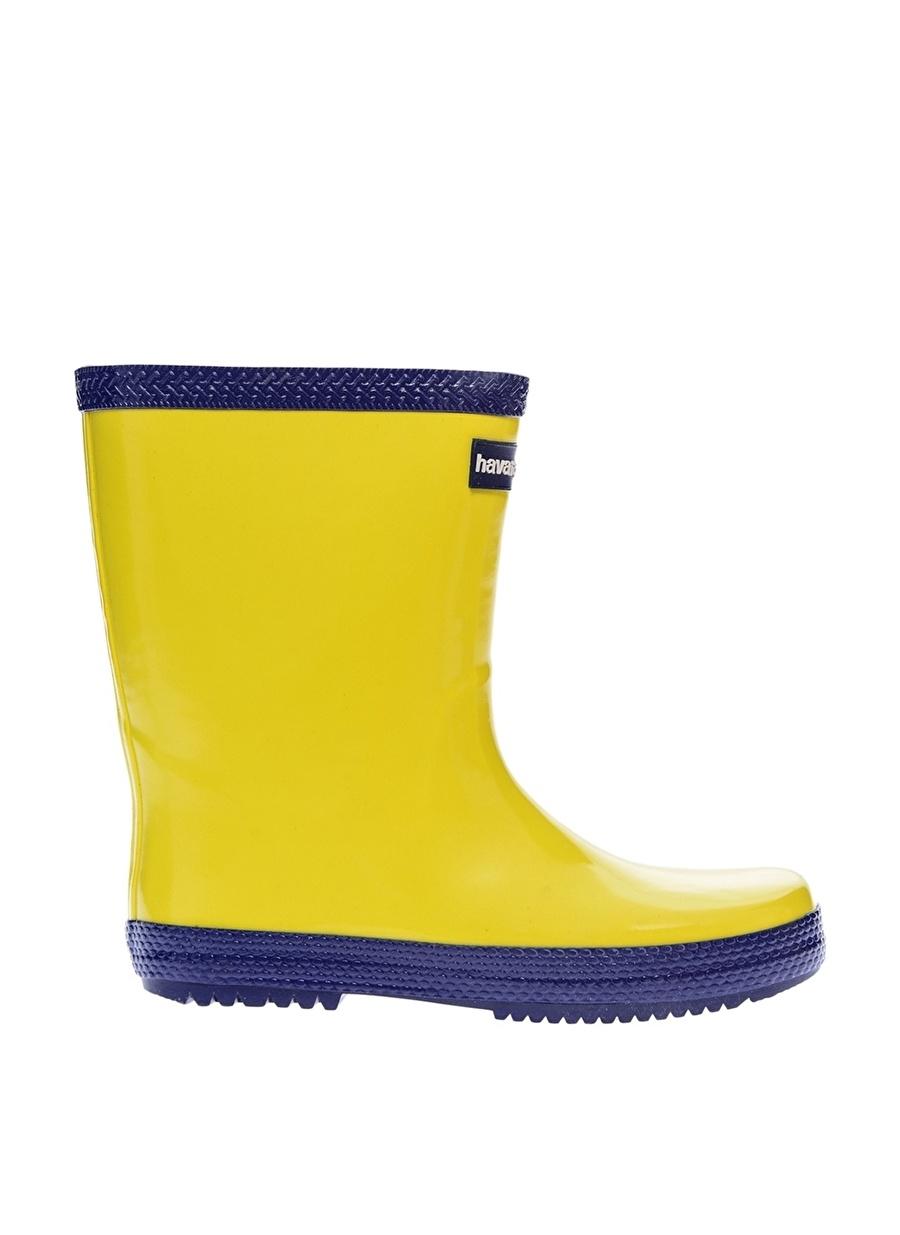 28 unisex Sarı Havaianas Bot Ayakkabı Çanta Çocuk Ayakkabıları BotÇizmeler