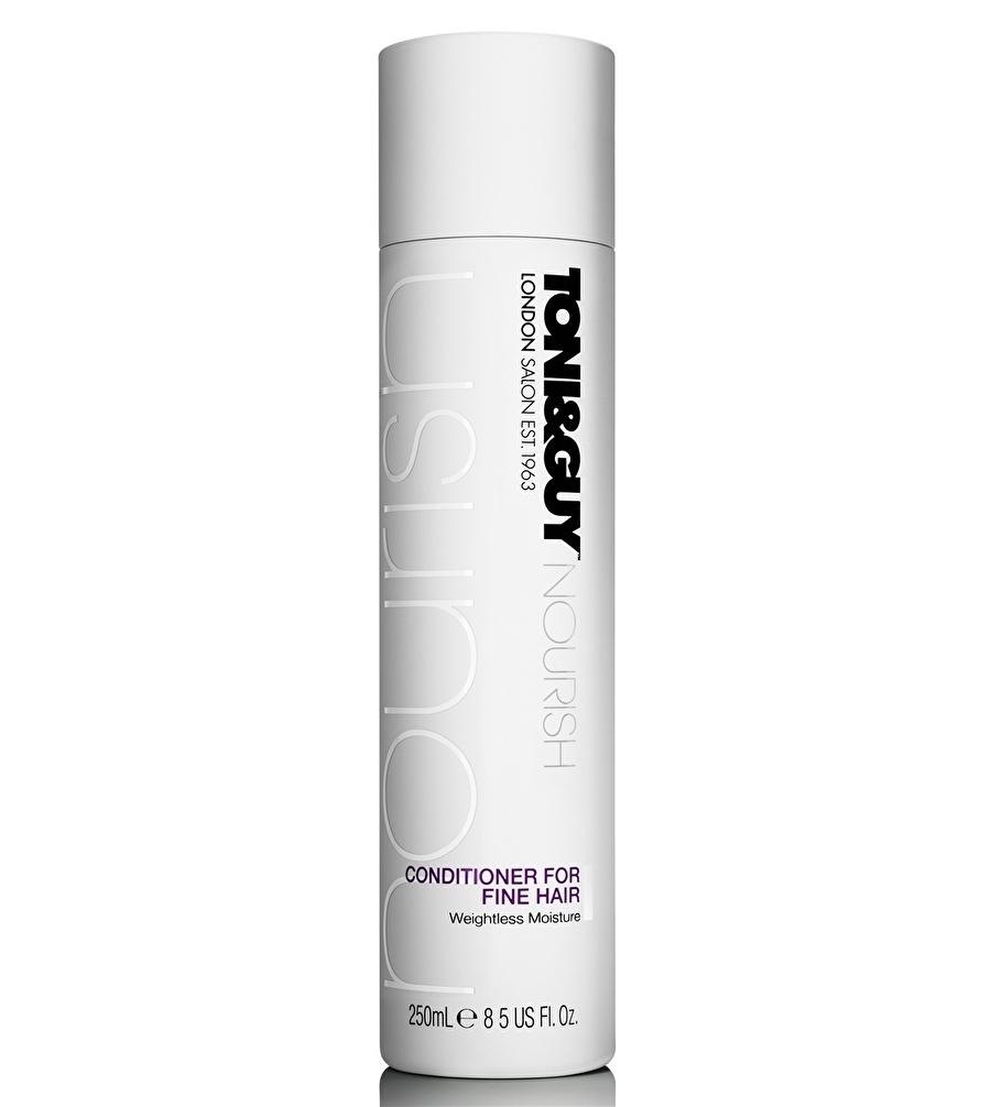 Standart unisex Renksiz Toniamp;Guy Toni&Guy For Fine 250 ml Saç Kremi Kozmetik Bakımı Şampuan