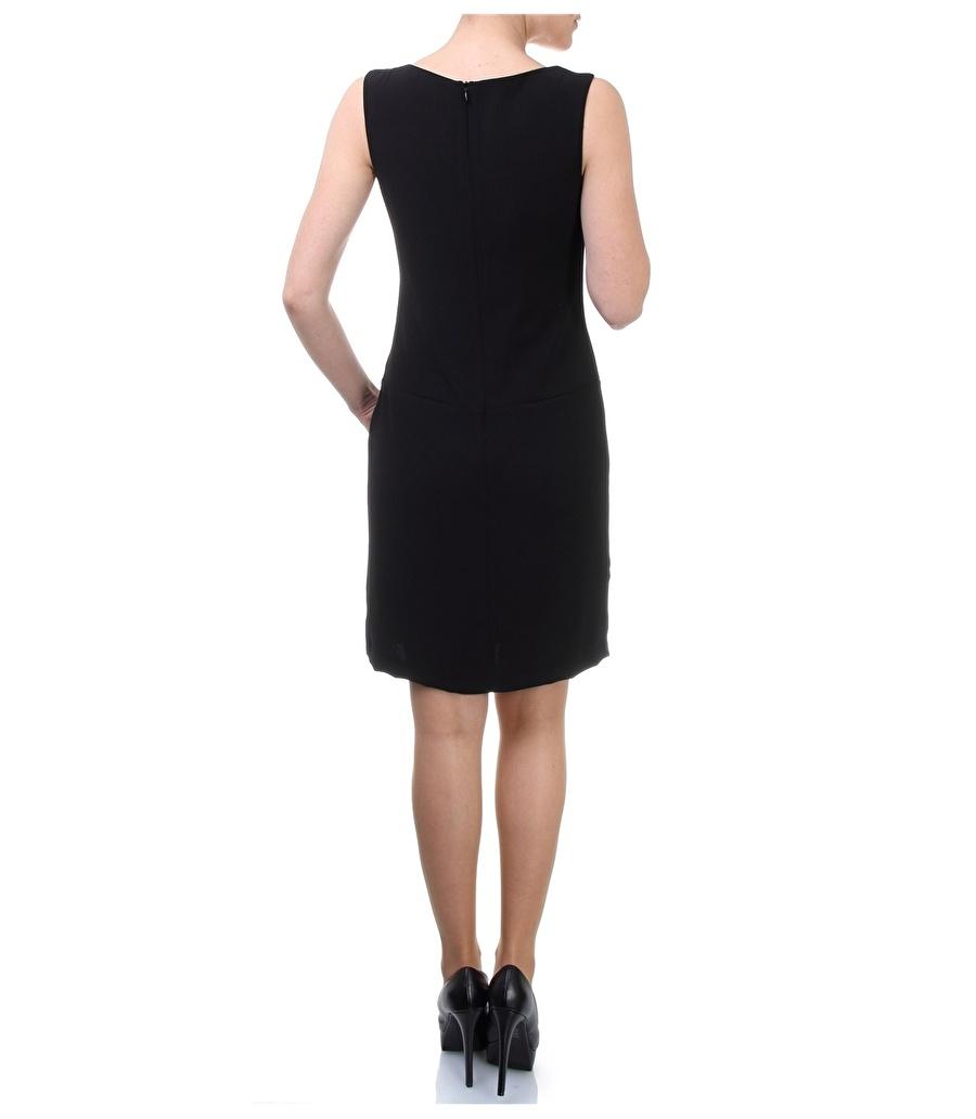 38 Siyah Cotton Bar Elbise Kadın Giyim