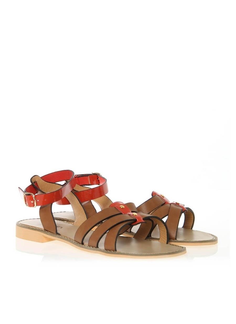 37 Deve Tüyü Melanj Colores Sandalet Kadın Terlik