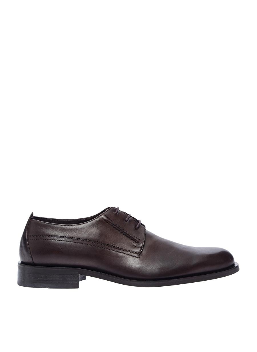 42 Kahve Bogard Klasik Ayakkabı Çanta Erkek