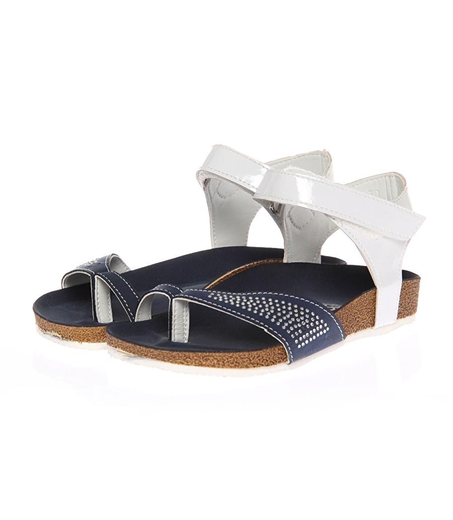29 Kadın Koyu Lacivert Mammaramma Plaj Terliği Ayakkabı Çanta Çocuk Ayakkabıları Terlik Sandaletler