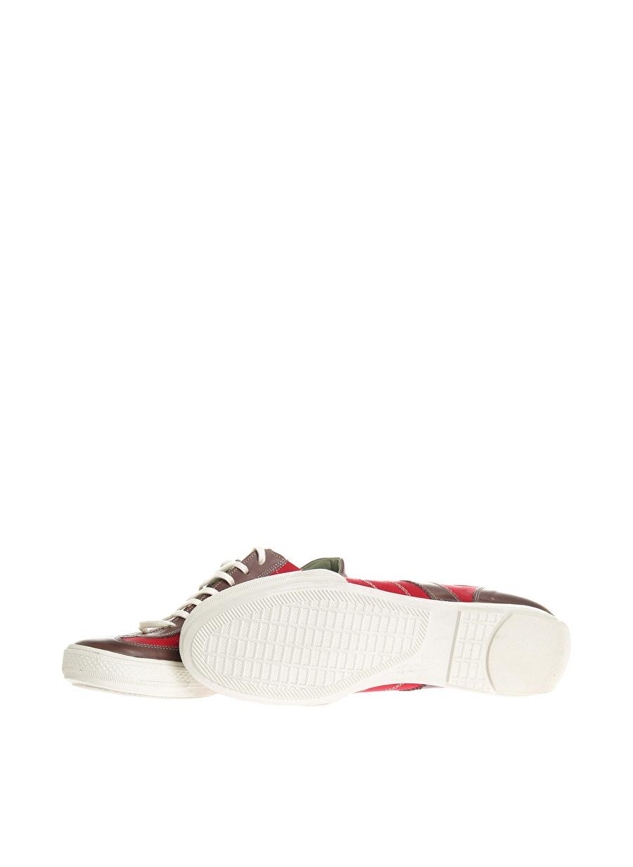 42 Bej Limon Sneaker Ayakkabı Çanta Erkek