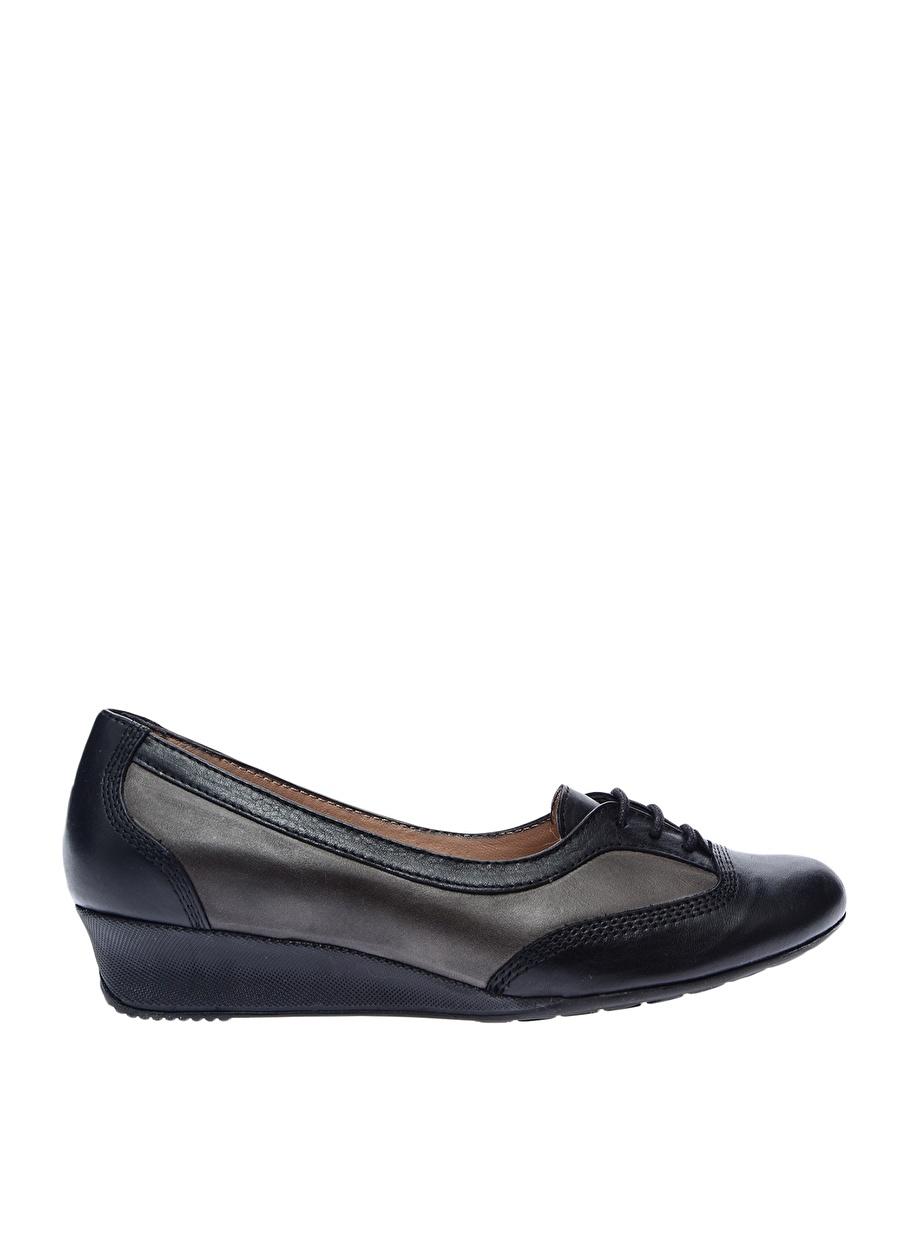 37 Siyah Prima Babet Ayakkabı Çanta Kadın