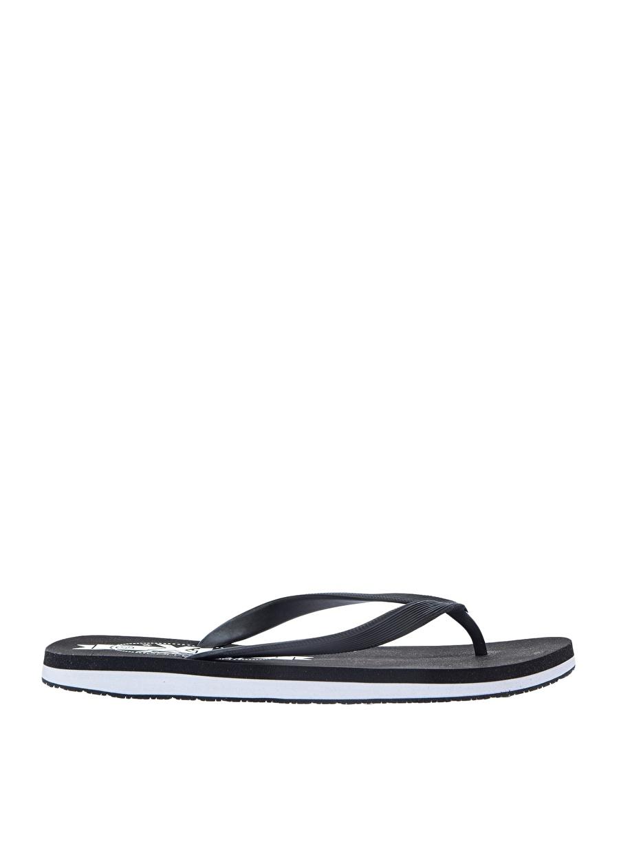 45 Siyah Xti Terlik Ayakkabı Çanta Erkek Sandalet