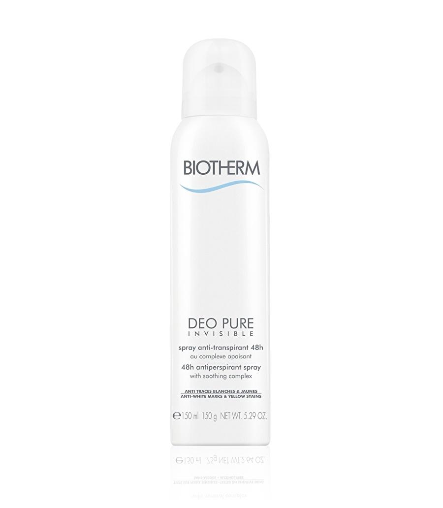 Standart Kadın Renksiz Biotherm Vücut Deodorant Kozmetik Bakımı Spreyi