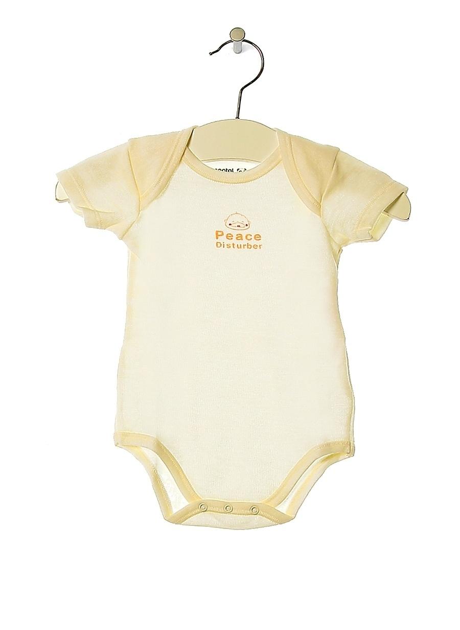 1 Ay unisex Beyaz Prenatal Body Çocuk Bebek Giyim