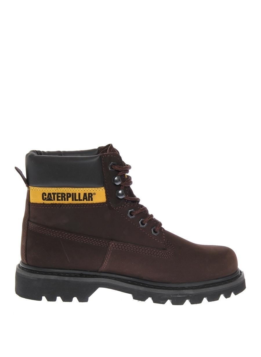 39 Kahve Caterpillar Colorado Nubuk Bot Ayakkabı Çanta Kadın Çizme