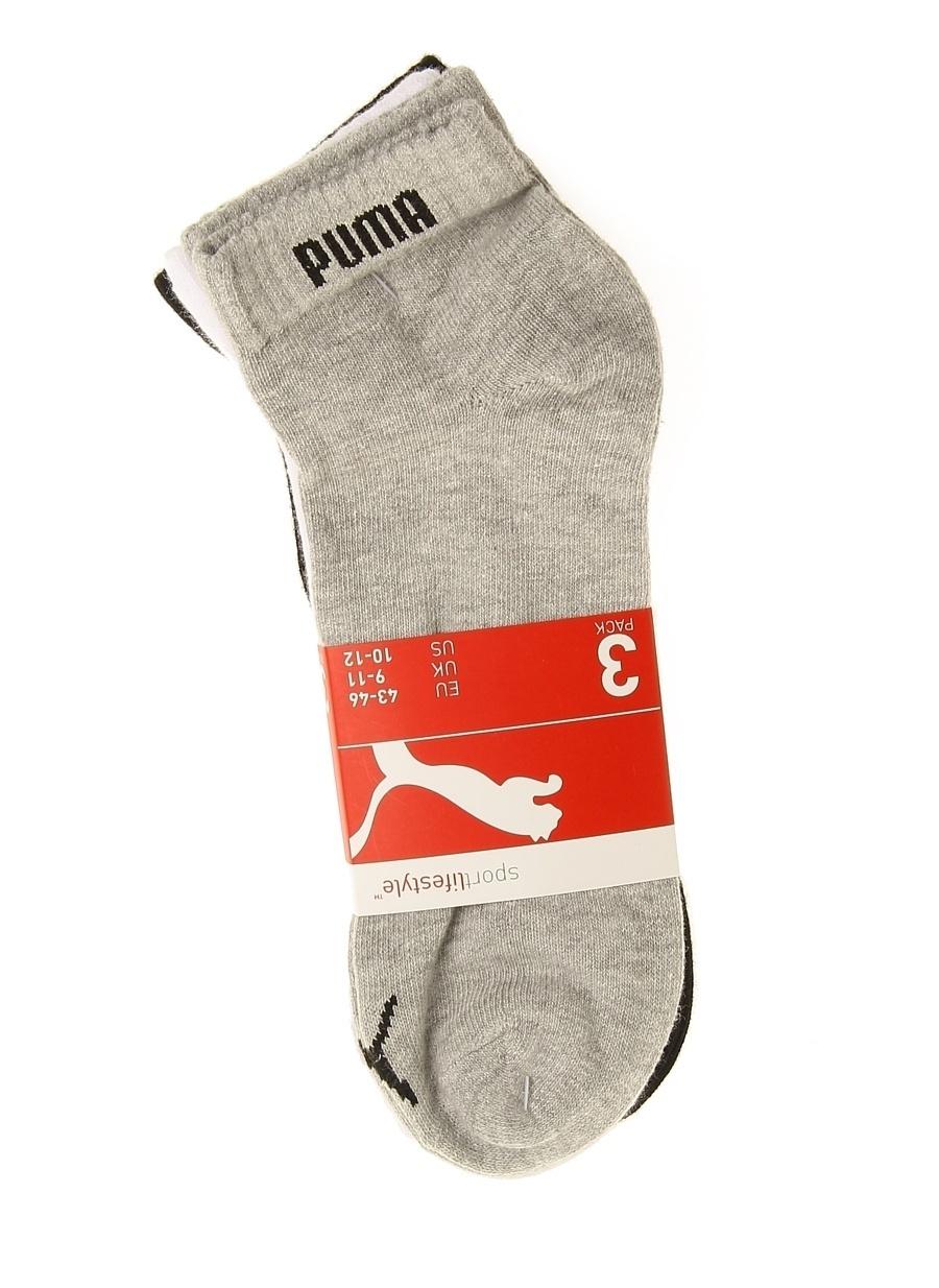 Standart unisex Gri Puma Spor Çorap Aksesuarları