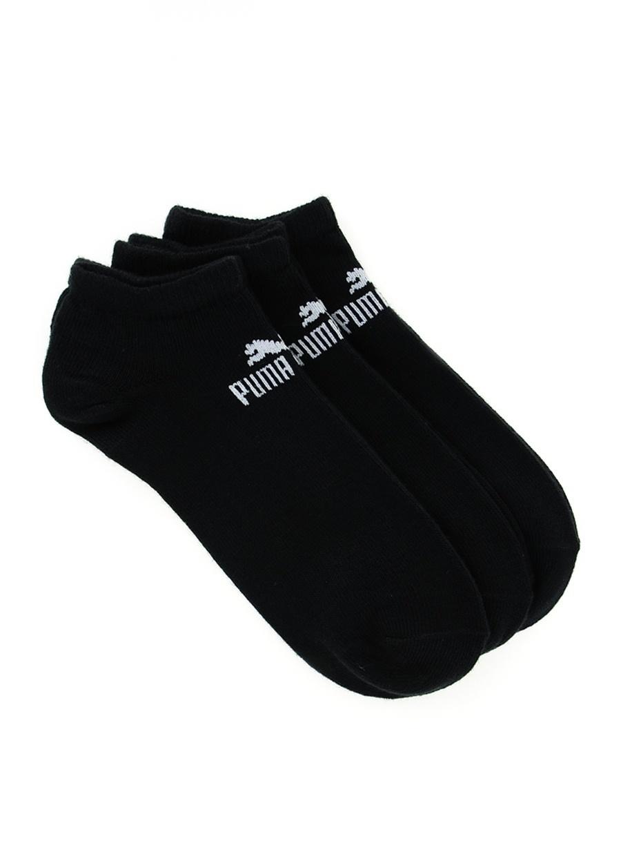 Standart unisex Siyah Puma Spor Çorap Aksesuarları