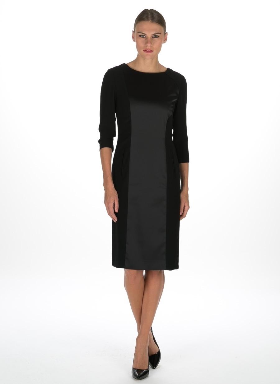 38 Siyah Beymen Studio Elbise Kadın Giyim