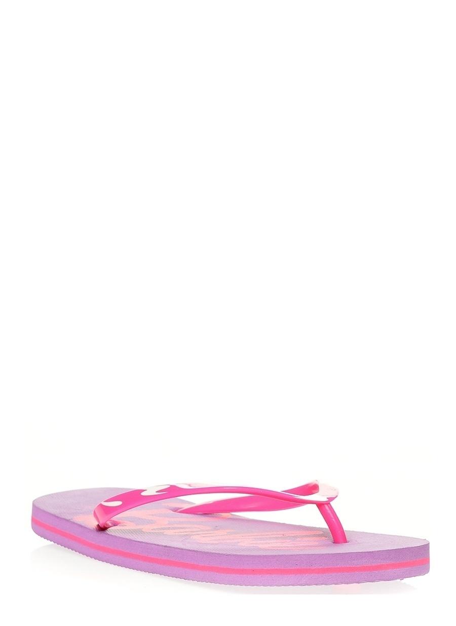 31 Kadın Lila Barbie Plaj Terliği Ayakkabı Çanta Çocuk Ayakkabıları Terlik Sandaletler