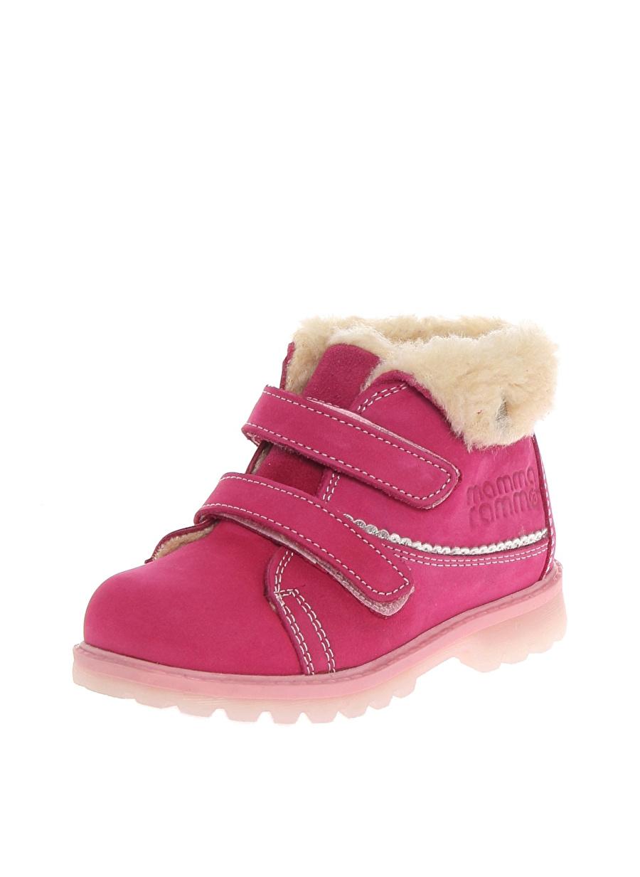21 Kadın Fuşya Mammaramma Bot Ayakkabı Çanta Çocuk Ayakkabıları BotÇizmeler
