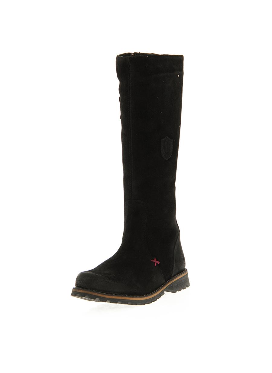 30 Kadın Siyah Limon Çizme Ayakkabı Çanta Çocuk Ayakkabıları BotÇizmeler